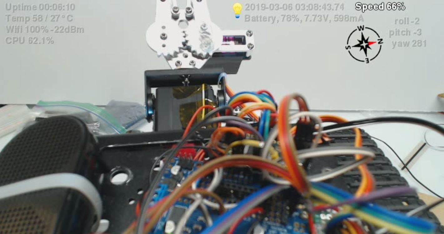 Video Tank Robot Build Guide / Tutorial