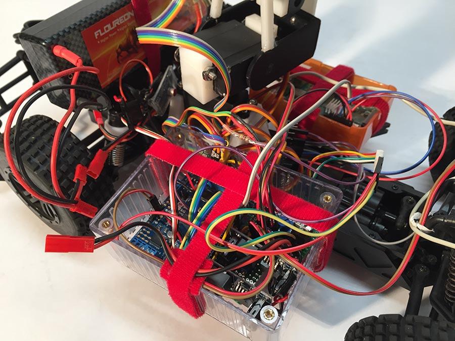 T Rex Raspberry Pi Rc Car